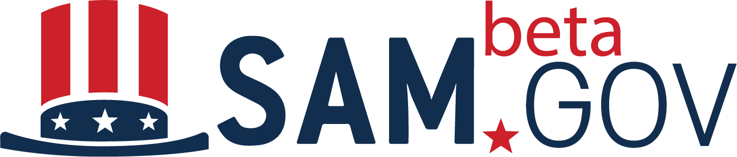 SAM.gov Beta Logo
